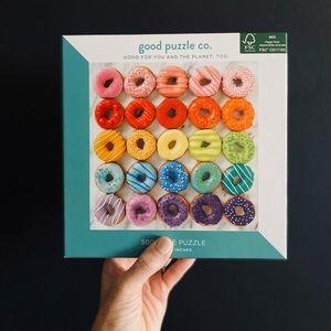 Good Puzzle Co. 500 Piece Donut Puzzle